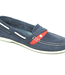 Dubarry HawaII Womens Deck Shoes Denim/Red (Size 6.5)