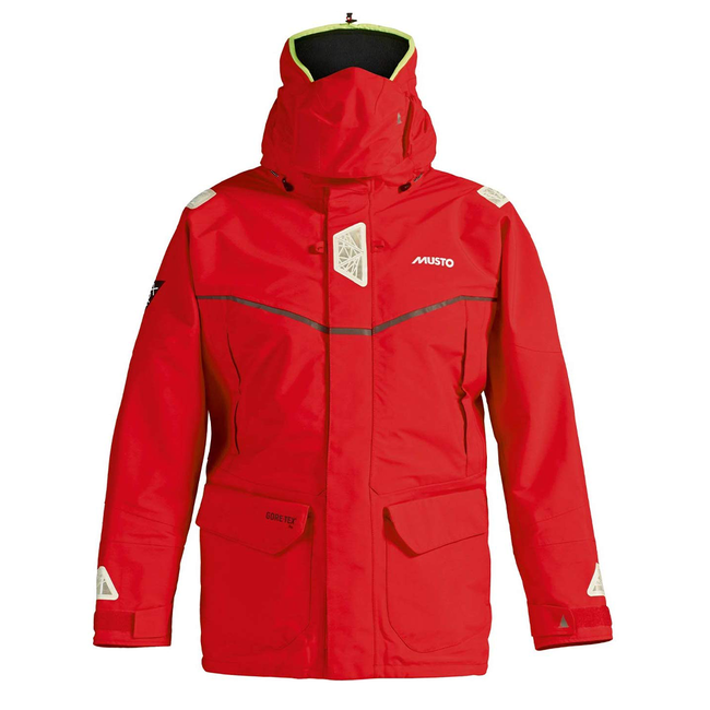 Musto Musto MPX GORE-TEX Pro Offshore Waterproof Jacket Red