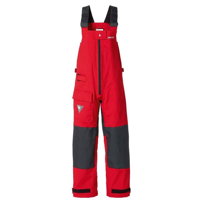 Musto Musto BR1 Womens Waterproof Sailing Drop Seat Trousers Red/Dark Grey