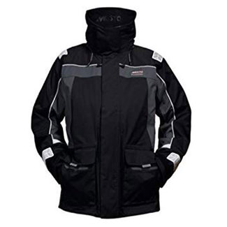 Musto Musto BR1 Channel Mens Jacket Black/Dark Grey