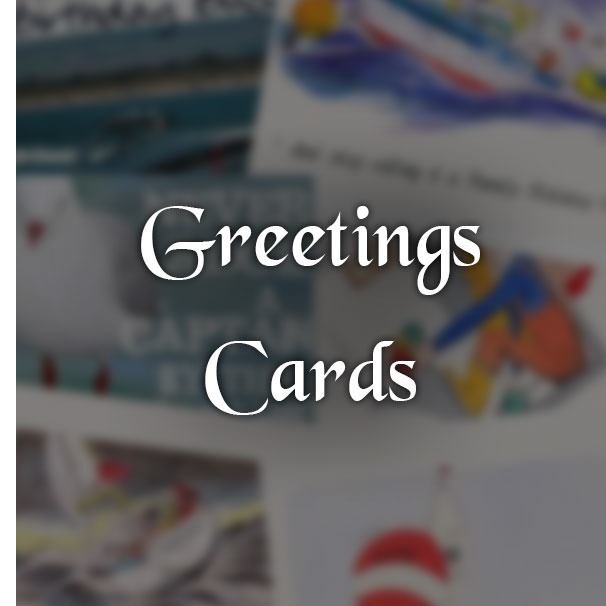 Greetings Cards from Pirates Cave Chandlery