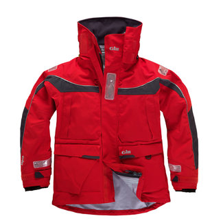 Gill Gill OS1 Offshore Mens Jacket Graphite/Red