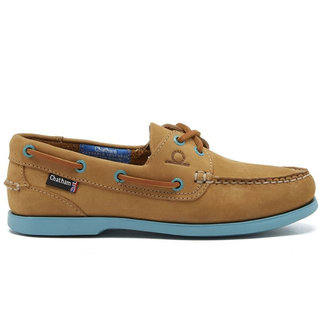 Chatham Chatham Pippa ll G2 Womens Deck Shoes Tan/Turquoise 2020