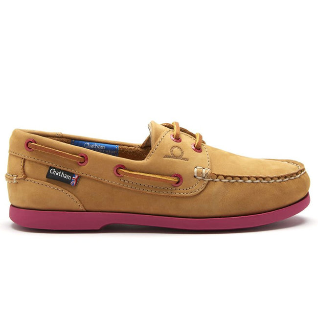 Chatham Chatham Pippa ll G2 Womens Deck Shoes Tan/Pink 2020