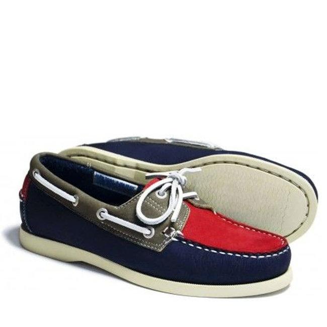Orca Bay Sandusky Womens Deck Shoes Red/Indigo/Olive 2020 - Size 4 (37)