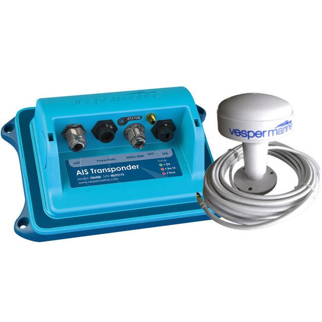 Vesper Vesper WatchMate XB-6000 AIS Transponder with NMEA 2000 Gateway & External GPS Antenna