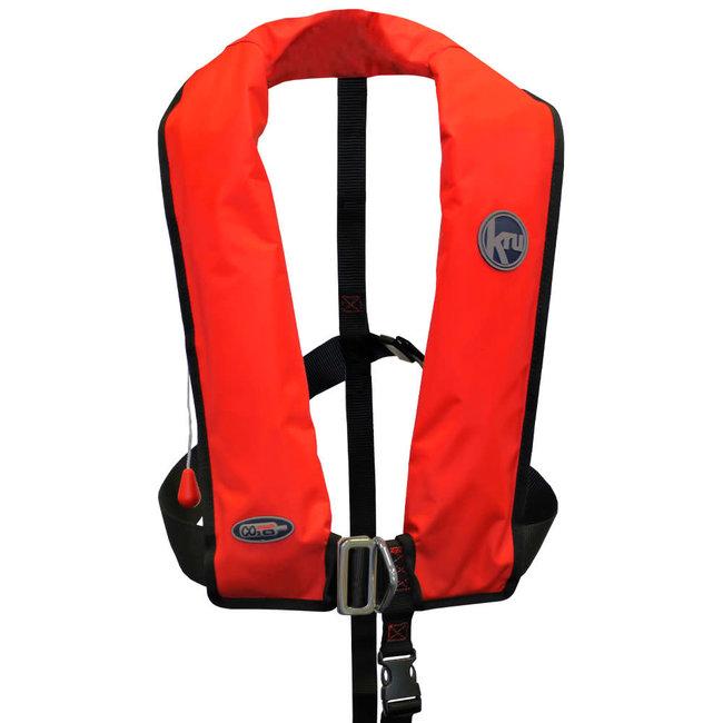 Kru Kru XF 170N ISO Life Jacket Red Manual