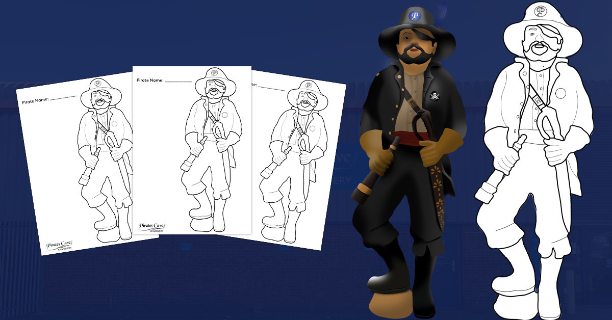 Colour In Our Pirate!