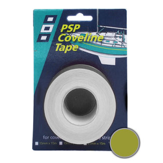 PSP PSP Coveline Tape 19mm x 50m Matt Gold