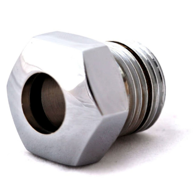 """Blakes 1/2"""" Gland Nut Chrome Plated With Lip Seal TBB7632"""