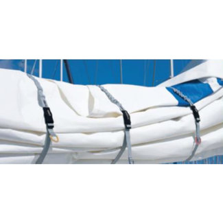 Blue Performance Sail Ties Small (Set of 3)