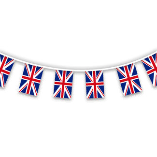 Pirates Cave Value Union Jack Bunting Red White & Blue 8.5M