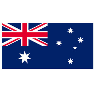 Plastimo Australia Courtesy Flag 45cm x 30cm