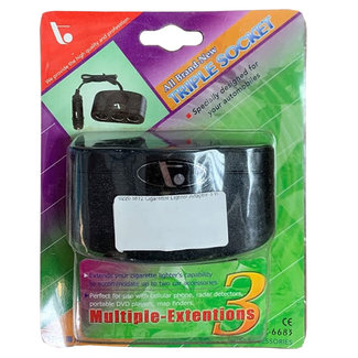 Pirates Cave Value Cigarette Lighter Adapter 3 Way