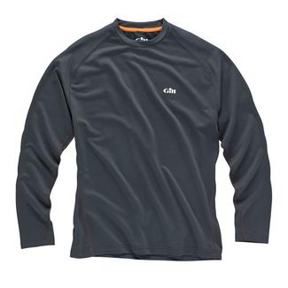 Gill Gill i2 Tec Performance BaseLayer Mens Long Sleeve T-Shirt Graphite