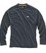 Gill i2 Tec Performance BaseLayer Mens Long Sleeve T-Shirt Graphite