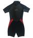 Gill Shorti Arm Junior Wetsuit Black/Red Medium