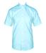 Henri Lloyd Classic Short Sleeve Mens Shirt Ice Blue (Small)