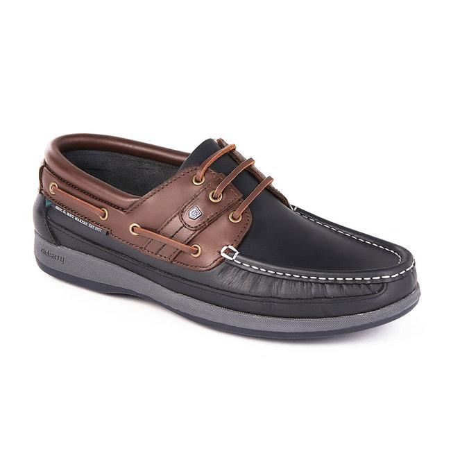 Dubarry Atlantic Mens Deck Shoes Navy/Mahogany - Size 7 (41)