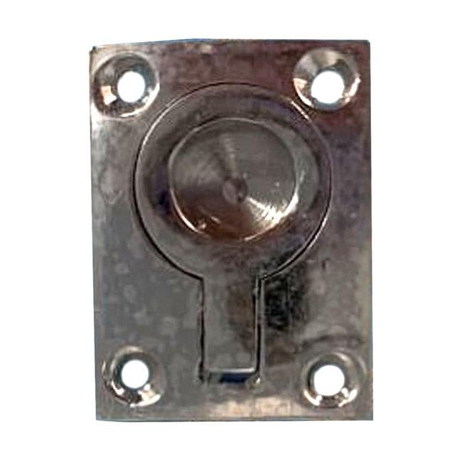 Flush Mounting Lifting Ring Chrome 51 x 38mm