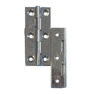 Pirates Cave Value Butt Hinge Chrome 64 x 29mm