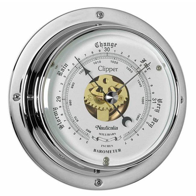 Nauticalia Clipper Tarnish-free QuickFix Chrome Barometer