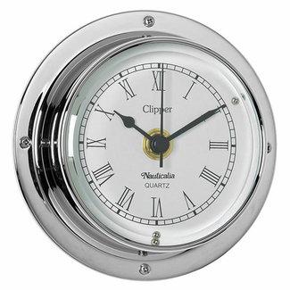 Nauticalia Nauticalia Clipper Chrome Clock
