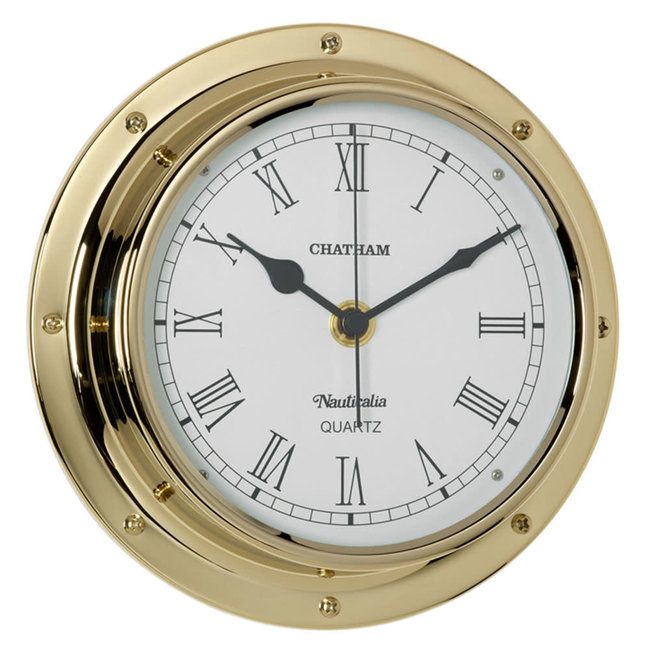 Nauticalia Nauticalia Chatham Brass Clock