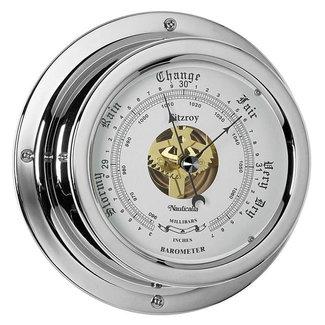 Nauticalia Nauticalia Fitzroy Chrome Barometer