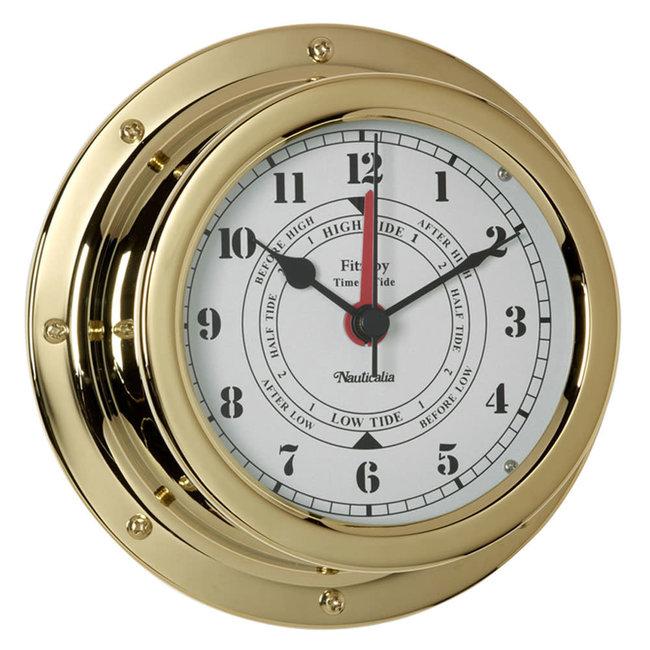 Nauticalia Nauticalia Fitzroy Brass Tide Clock