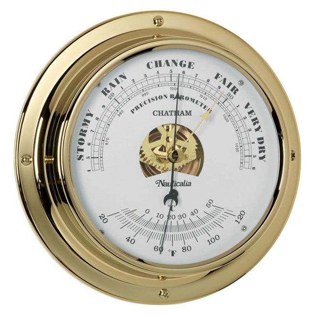 Nauticalia Chatham Tarnish-Free QuickFix Brass Barometer