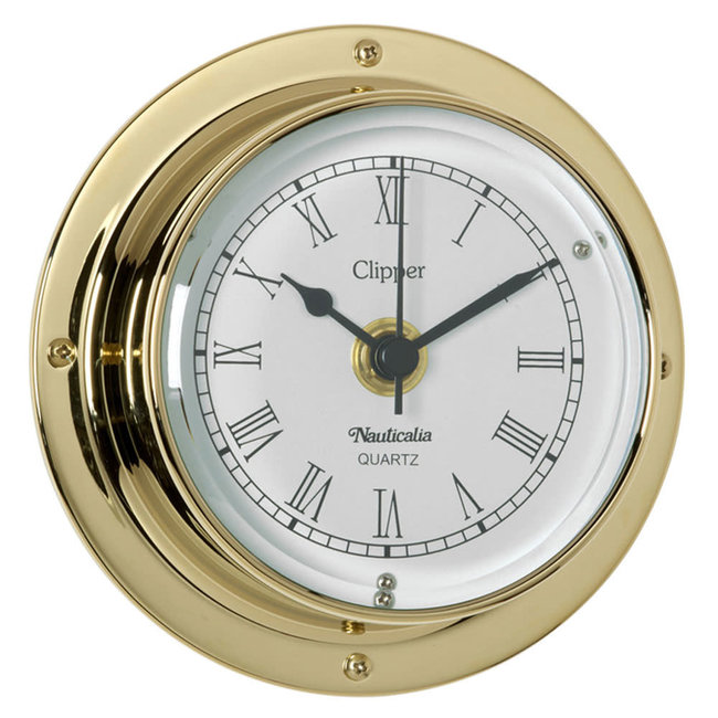 Nauticalia Clipper Tarnish-Free QuickFix Clock