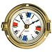 Plastimo Plastimo Brass Clock with Silent Zones