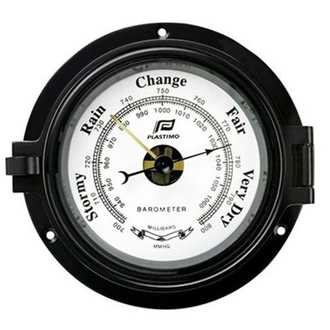Plastimo Black Barometer