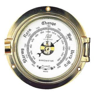 """Plastimo Plastimo 3"""" Brass Barometer"""