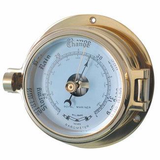 Channel Channel Range Brass Barometer