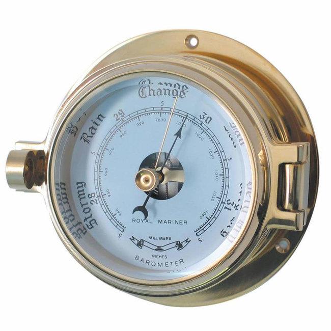 "Channel Range Brass Barometer 3"""