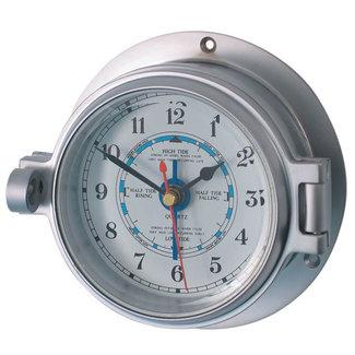 Channel Channel Range Chrome Tide Clock