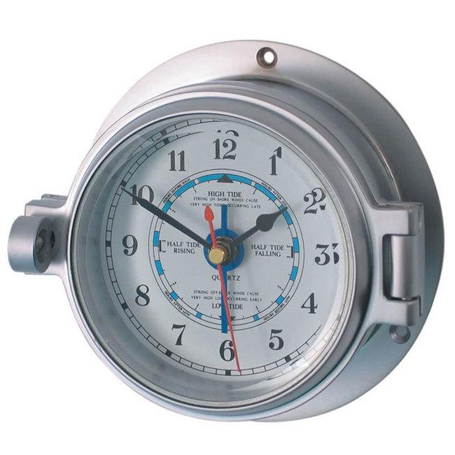 """Channel Range Tide Clock Matt Chrome 3"""""""