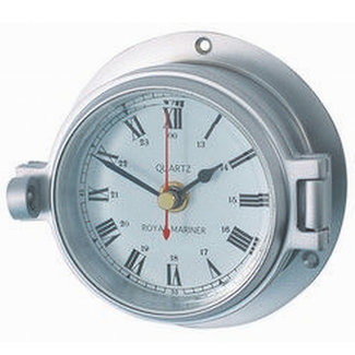 Channel Channel Range Matt Chrome Clock
