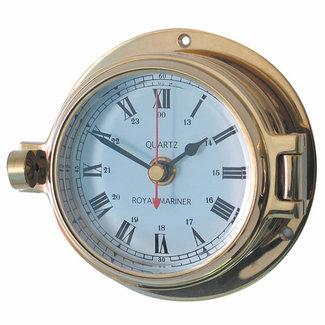 Channel Channel Range Brass Clock