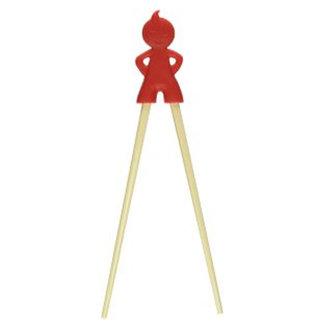 Pirates Cave Value Kids Chopsticks Red