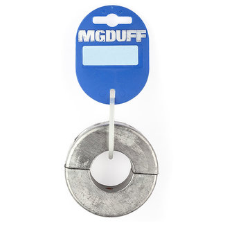 MGDUFF MG Duff Zinc Shaft Collar Anodes (20-35mm)