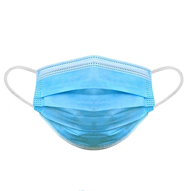 Disposable 3-Ply Face Masks (25 Pack)