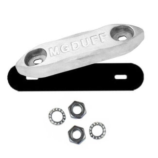 MGDUFF MG Duff ZD78B Zinc Bolt-On Bar Anode Kit