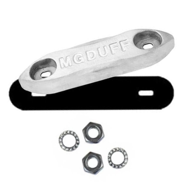 MG Duff MG Duff ZD78B Zinc Bolt-On Bar Anode Kit 4kg