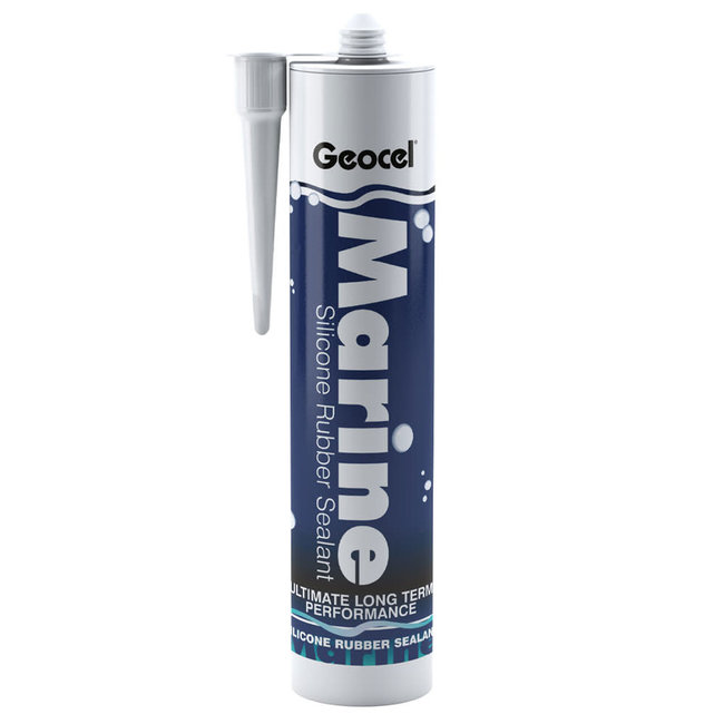 Geocel Silicone Rubber Sealant 310ml