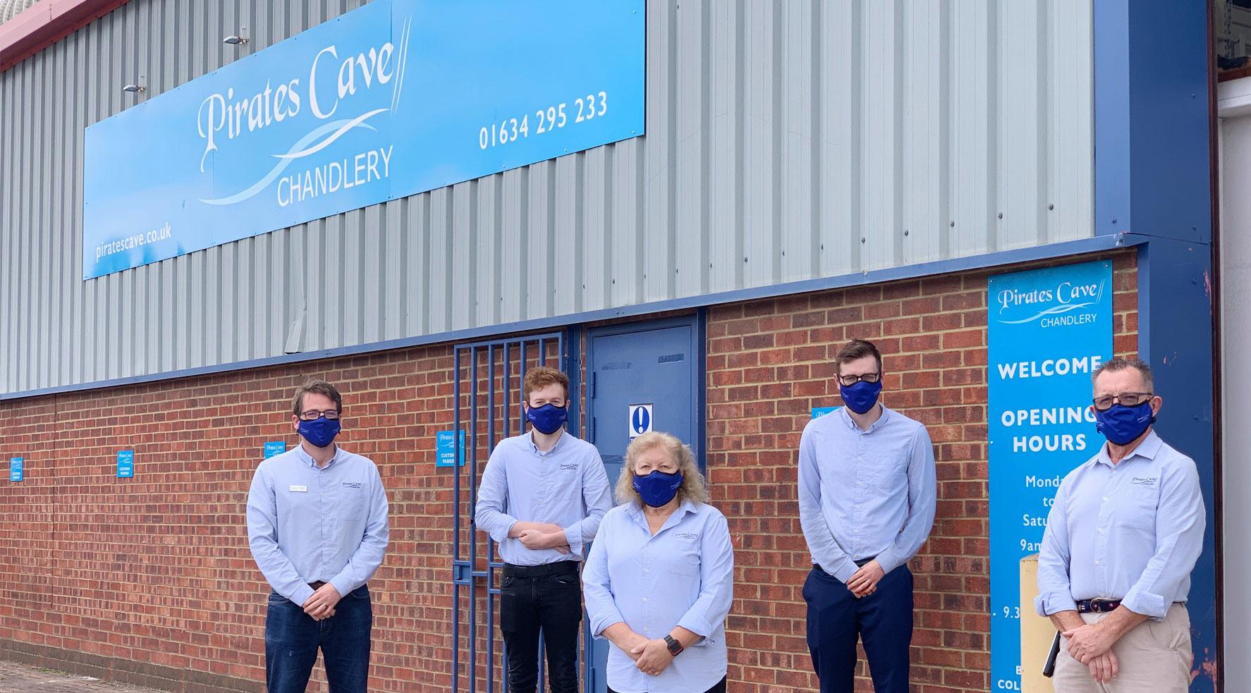 Pirates Cave Team
