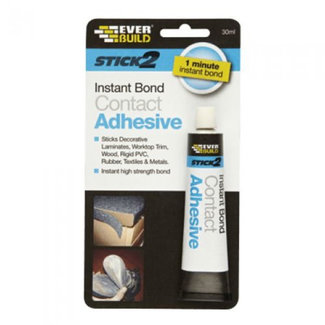 Ever Build Everbuild Stick 2 Instant Bond Contact Adhesive 30ml