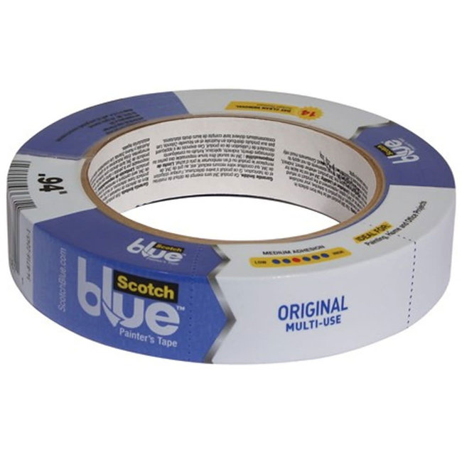 3M 2090 ScotchBlue 14 Day Outdoor Masking Tape (25mm x 50m)